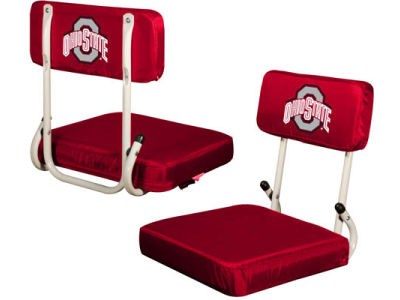 Logo Chair Hardback Stadium Seat
