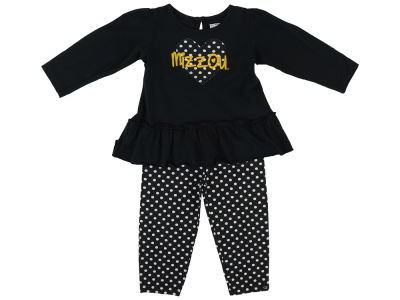 Missouri Tigers NCAA Toddler Girls Maya Outfit