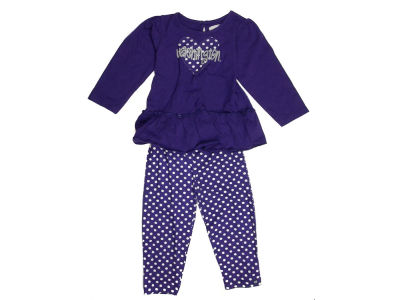 Washington Huskies NCAA Toddler Girls Maya Outfit