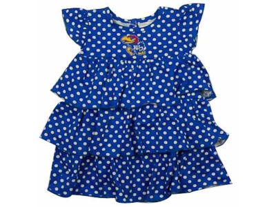 Kansas Jayhawks NCAA Natasha Newborn Dress