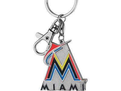 Miami Marlins Heavyweight Keychain