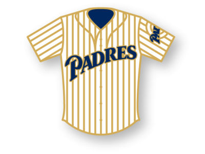 San Diego Padres Aminco Jersey Pin