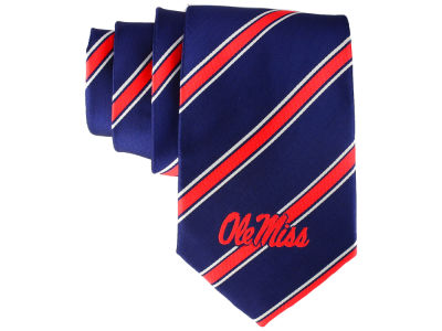 Ole Miss Rebels Necktie Woven Poly 1