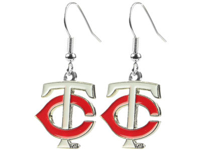 Minnesota Twins Logo Earrings