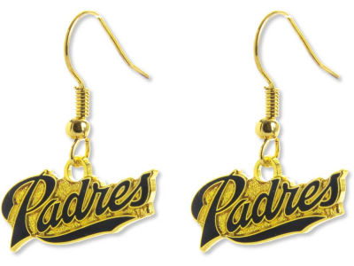 San Diego Padres Logo Earrings