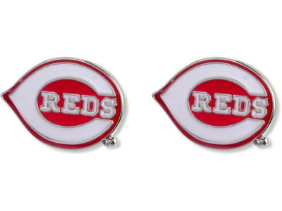 Cincinnati Reds Logo Post Earrings