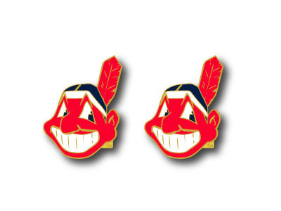 Cleveland Indians Logo Post Earrings