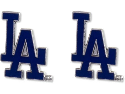 Los Angeles Dodgers Logo Post Earrings