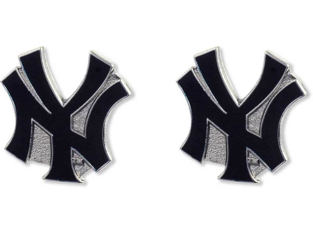 New York Yankees Logo Post Earrings Lids
