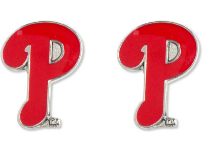 Philadelphia Phillies Logo Post Earrings