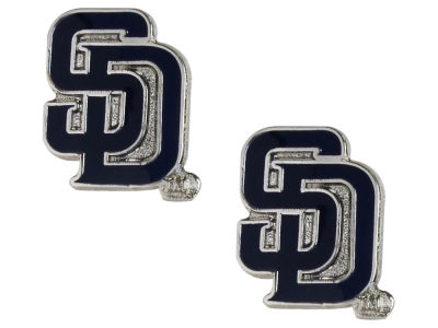 San Diego Padres Logo Post Earrings