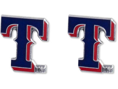Texas Rangers Logo Post Earrings
