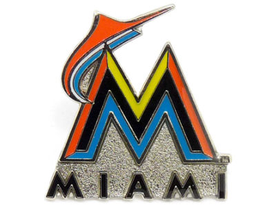 Miami Marlins Primary Plus Pin Aminco