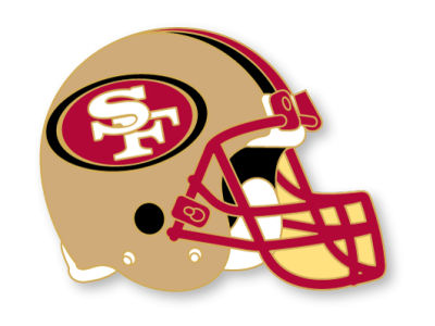 San Francisco 49ers Helmet Pin