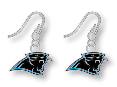 Carolina Panthers Logo Earrings