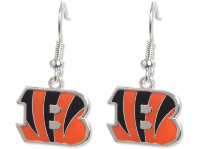 Cincinnati Bengals Logo Earrings