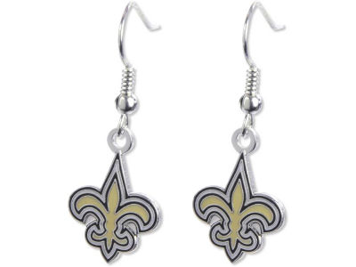 New Orleans Saints Logo Earrings