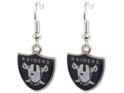 Oakland Raiders Logo Earrings
