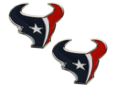 Houston Texans Logo Post Earrings