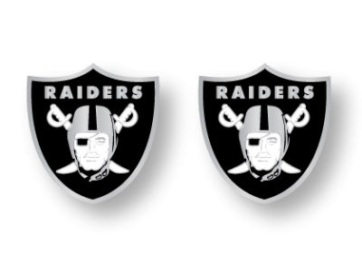 Oakland Raiders Logo Post Earrings
