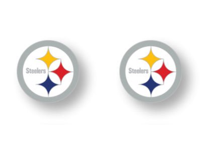 Pittsburgh Steelers Logo Post Earrings