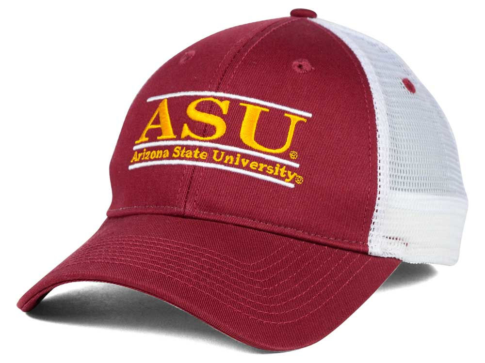 a91731afb84 Arizona State Sun Devils The Game NCAA Mesh Bar Cap