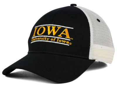 Iowa Hawkeyes NCAA Mesh Bar Cap