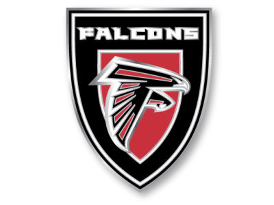 Atlanta Falcons Team Crest Pin Aminco