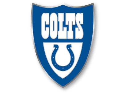 Indianapolis Colts Team Crest Pin Aminco