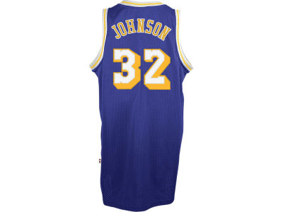 Los Angeles Lakers Magic Johnson adidas NBA Retired Player Swingman Jersey
