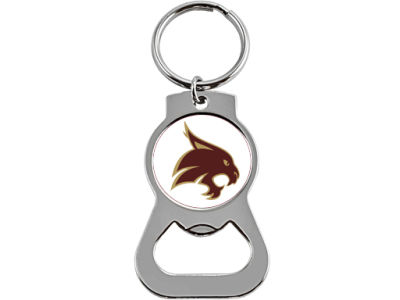 Texas State Bobcats Aminco Bottle Opener Keychain
