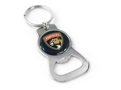Florida Panthers Aminco Bottle Opener Keychain