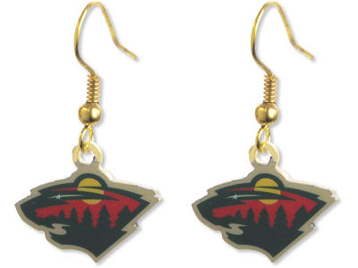 Minnesota Wild Logo Earrings