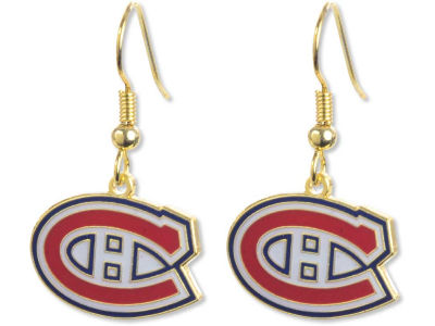 Montreal Canadiens Logo Earrings