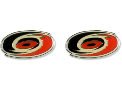 Carolina Hurricanes Logo Post Earrings