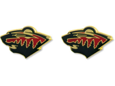 Minnesota Wild Logo Post Earrings