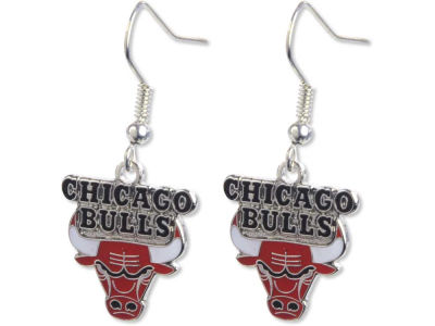 Chicago Bulls Logo Earrings