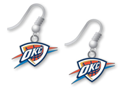 Oklahoma City Thunder Logo Earrings