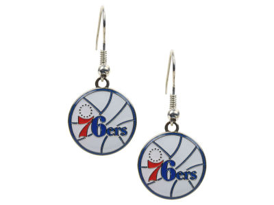 Philadelphia 76ers Logo Earrings