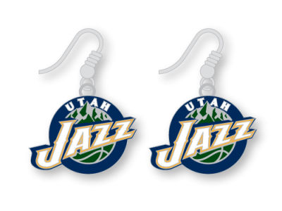 Utah Jazz Logo Earrings