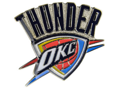 Oklahoma City Thunder Logo Pin