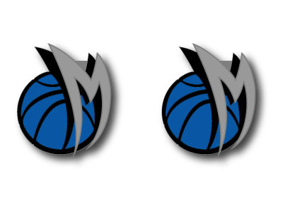 Dallas Mavericks Logo Post Earrings
