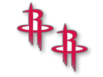 Houston Rockets Logo Post Earrings
