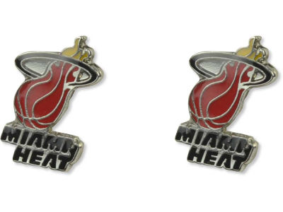 Miami Heat Logo Post Earrings