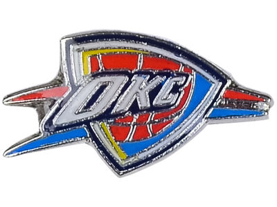 Oklahoma City Thunder Logo Post Earrings