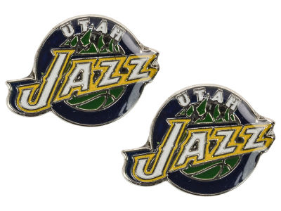 Utah Jazz Logo Post Earrings