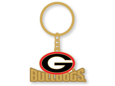 Georgia Bulldogs Heavyweight Keychain