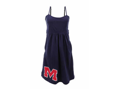 Ole Miss Rebels NCAA Main St Spaghetti Strap Dress