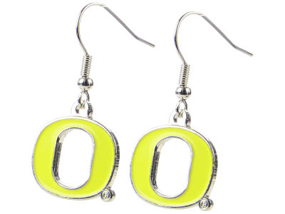 Oregon Ducks Logo Earrings