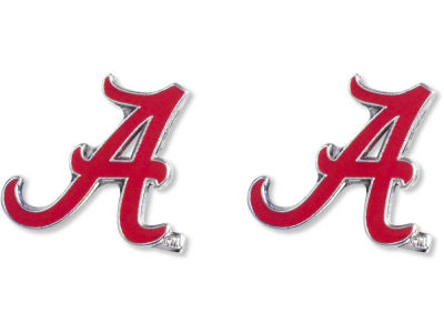 Alabama Crimson Tide Logo Post Earrings